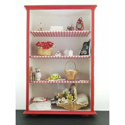 Armoire Miniature Rouge